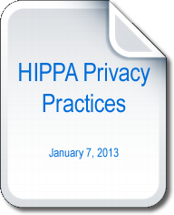 HIPPA Privacy Practices