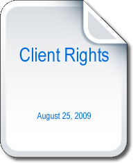 Client Rights