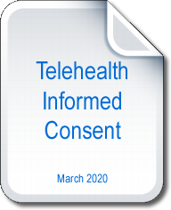 Telehealth Counseling Informed Consent